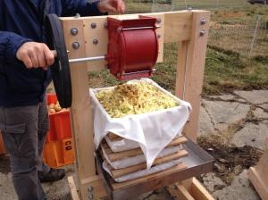 Double Dog Timberwork's Cider Press